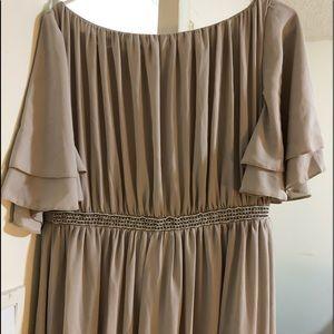 ASOS Flutter Sleeve Maxi Dress
